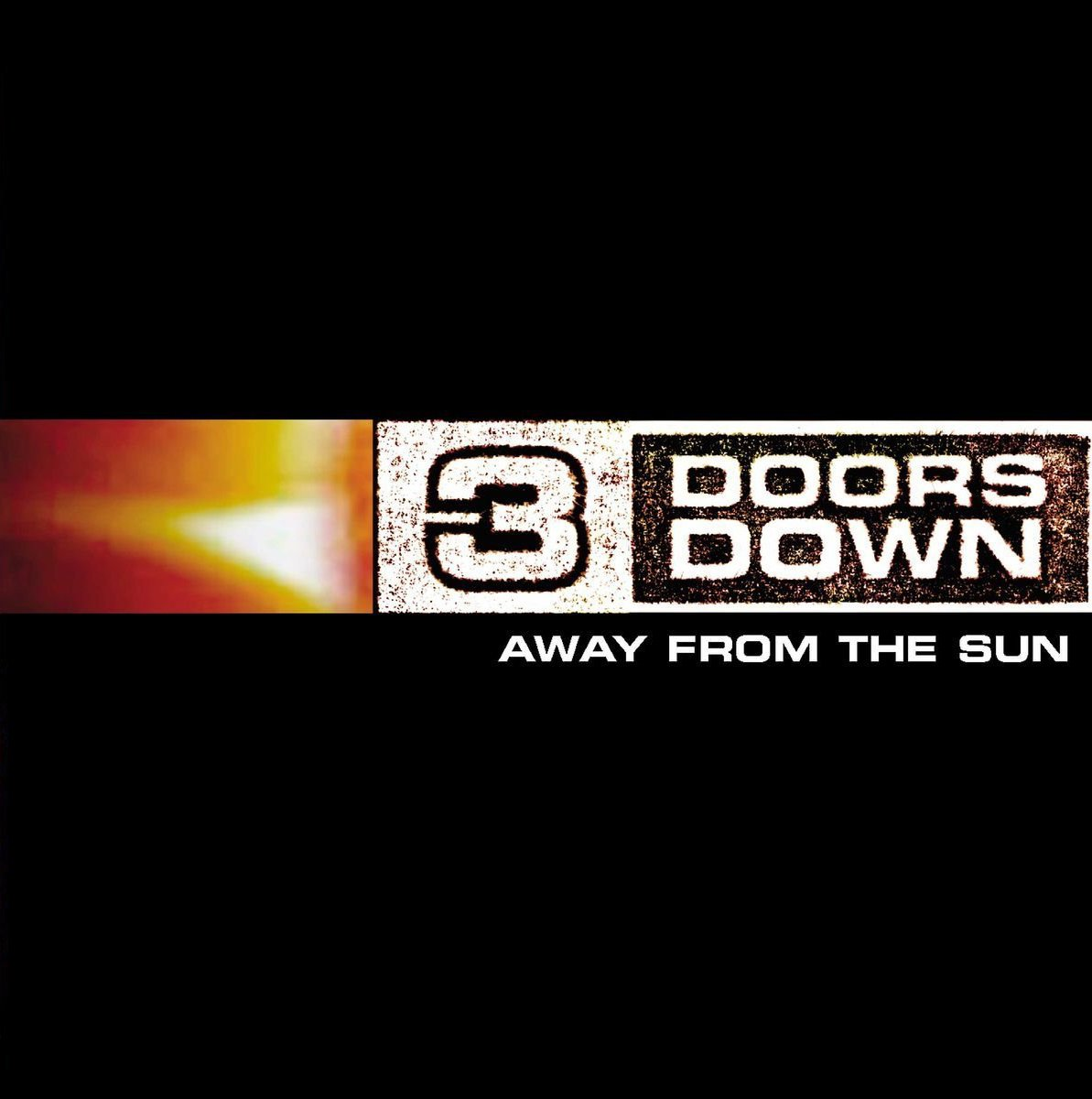 CD Shop - 3 DOORS DOWN AWAY FROM THE SUN