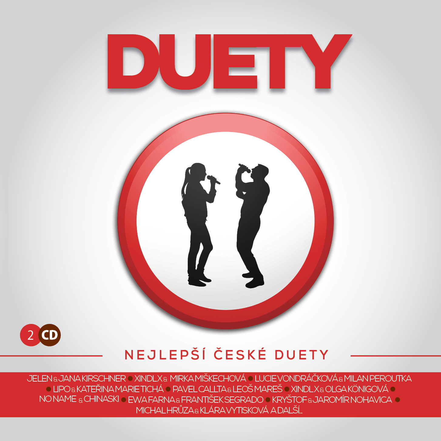 CD Shop - RUZNI/POP NATIONAL DUETY