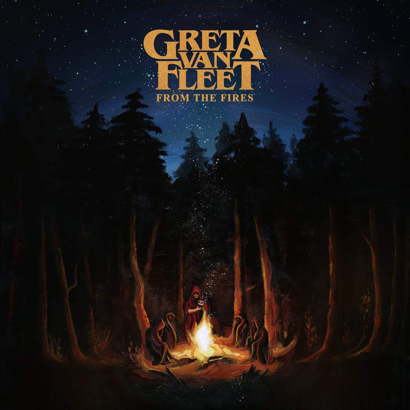 CD Shop - GRETA VAN FLEET FROM THE FIRES