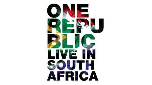 CD Shop - ONEREPUBLIC LIVE IN SOUTH AFRICA