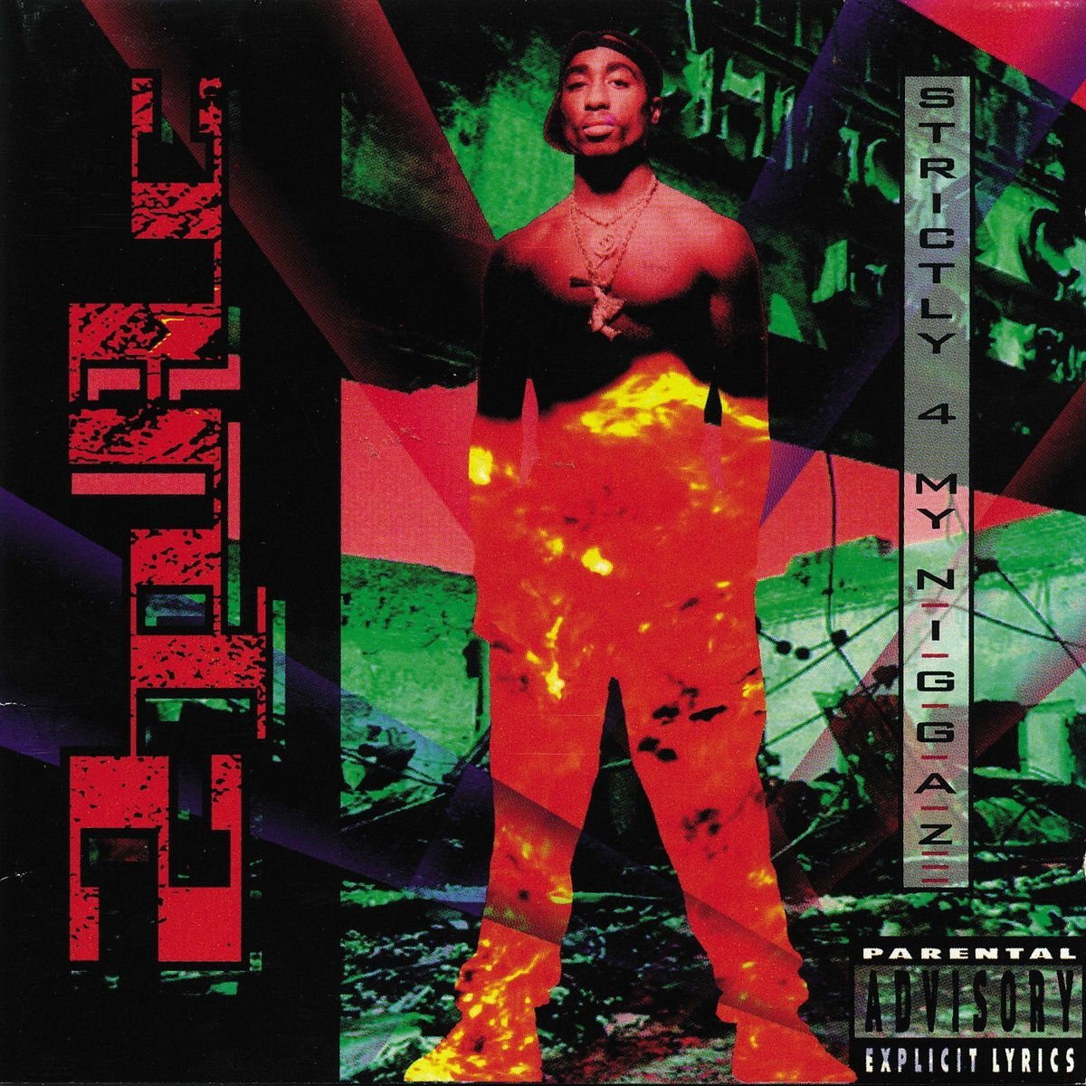 CD Shop - 2 PAC STRICTLY 4 MY N.I.G.G.A.Z.