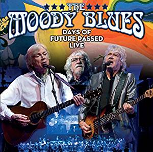 CD Shop - MOODY BLUES DAYS OF FUTURE PASSED LIVE