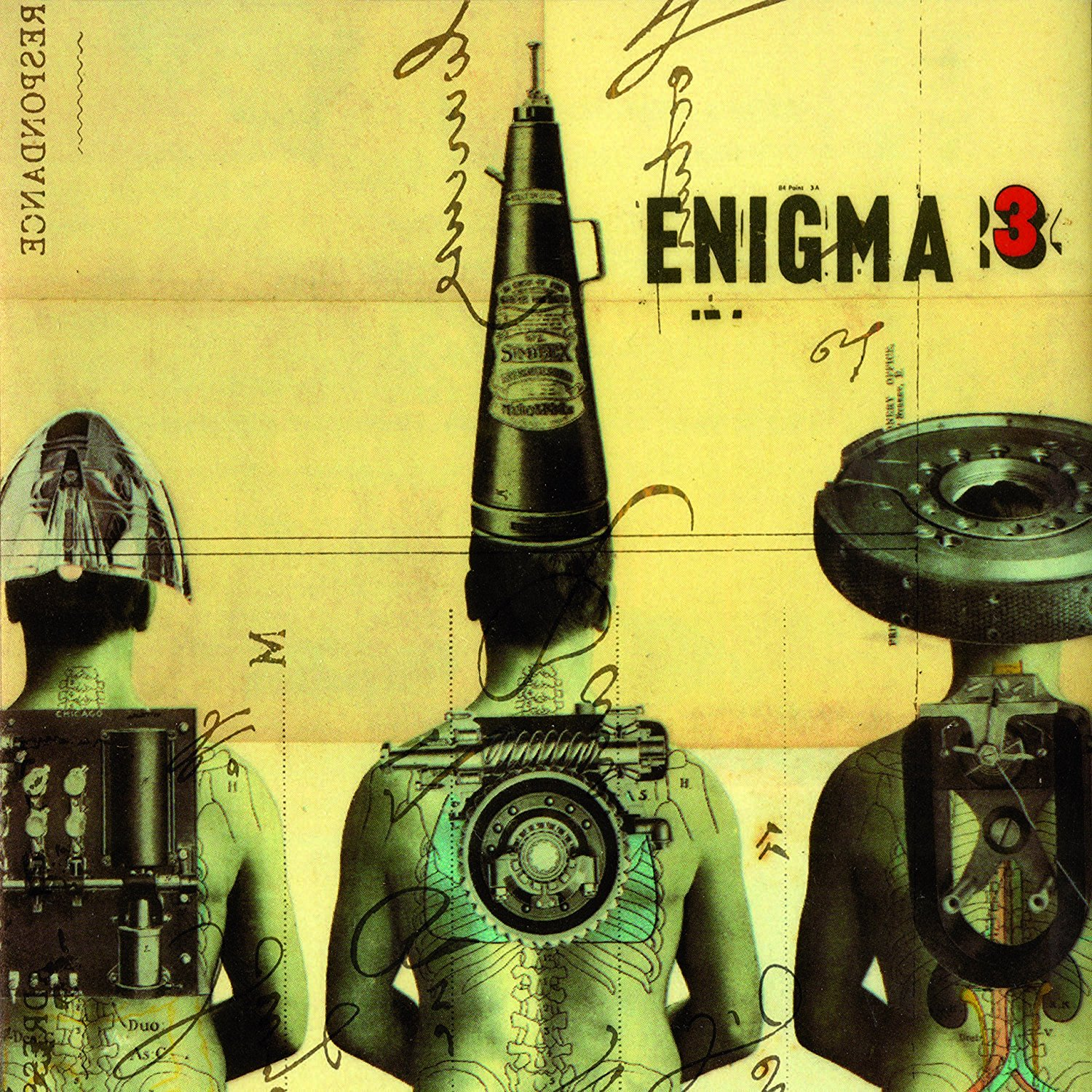 CD Shop - ENIGMA LE ROI EST MORT../COLORED