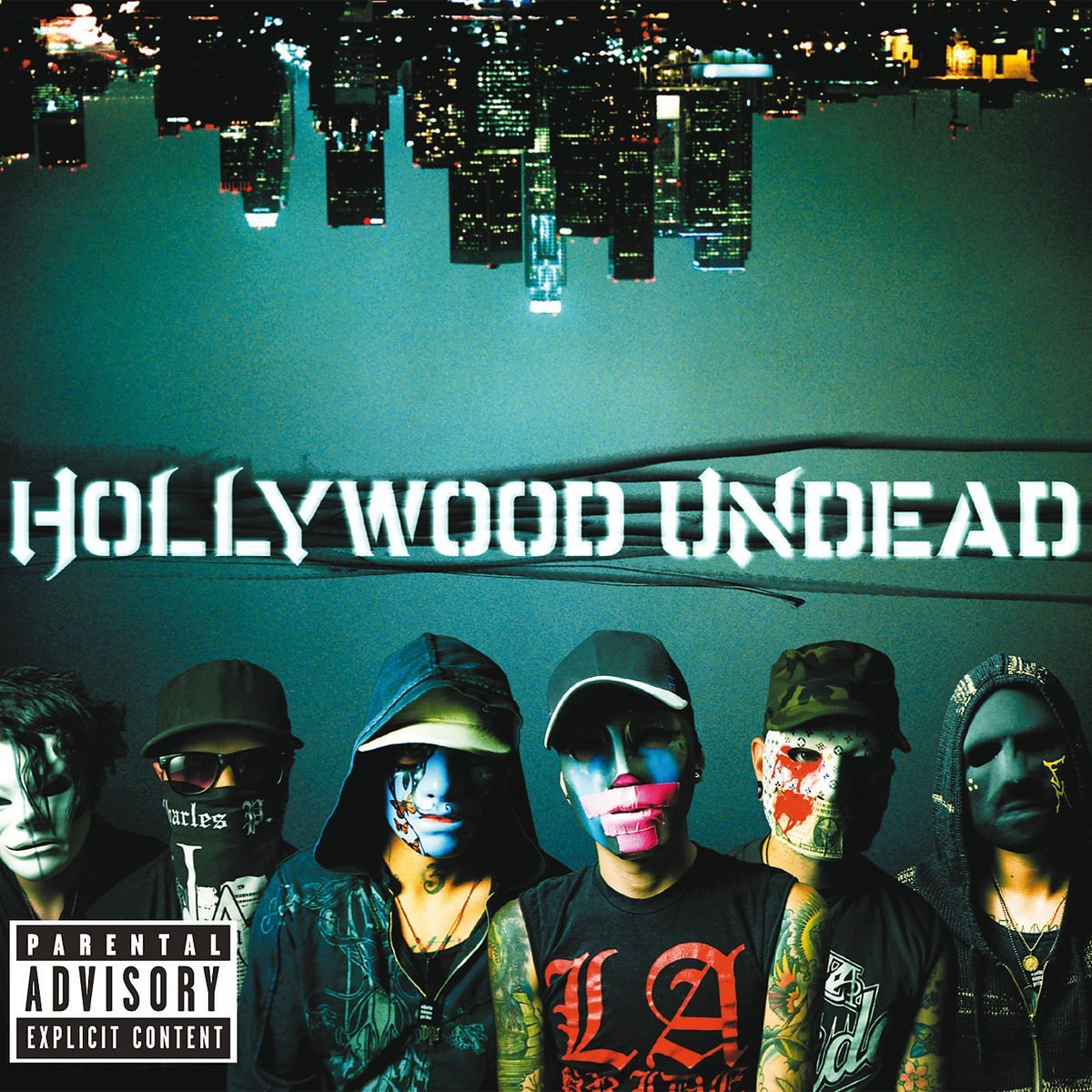 CD Shop - HOLLYWOOD UNDEAD SWAN SONGS