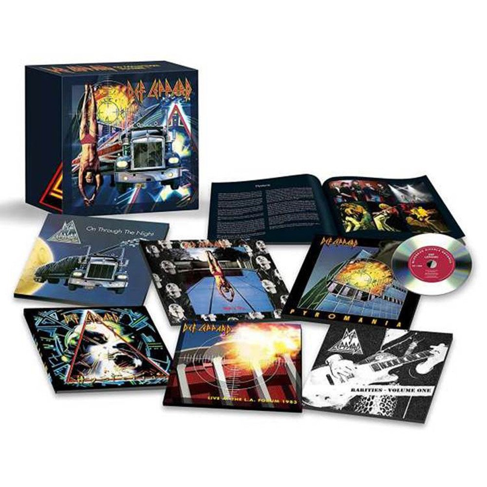 CD Shop - DEF LEPPARD THE CD BOXSET: VOLUME ONE