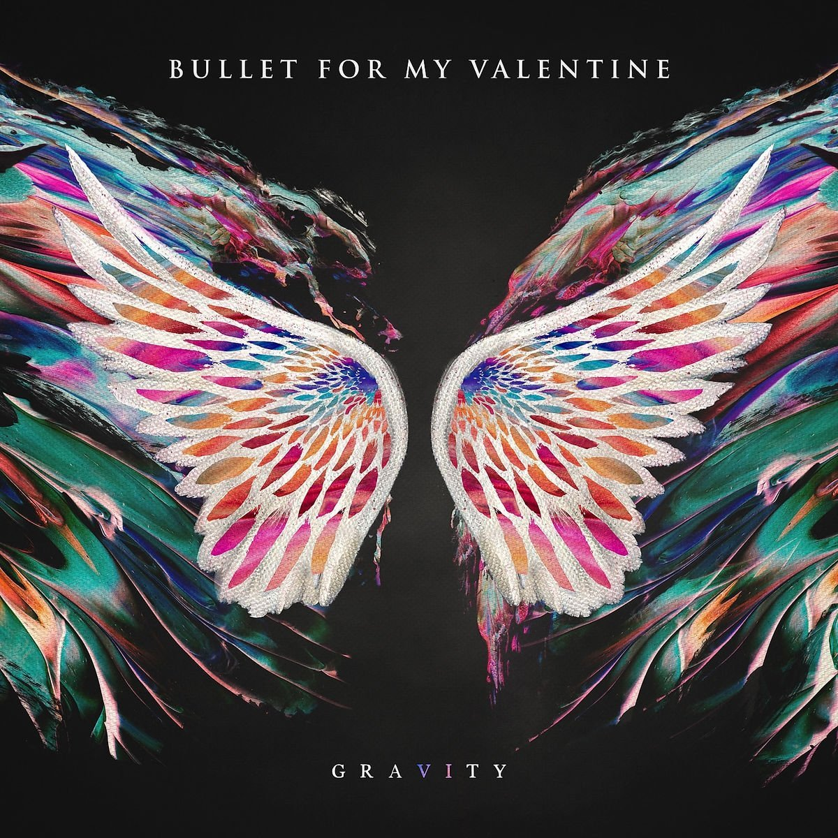 CD Shop - BULLET FOR MY VALENTINE GRAVITY/PINK-BLACK LP/LTD.