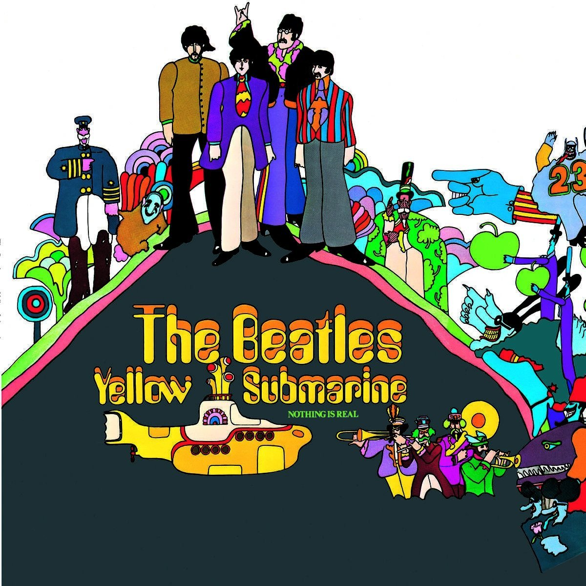 CD Shop - BEATLES YELLOW SUBMARINE