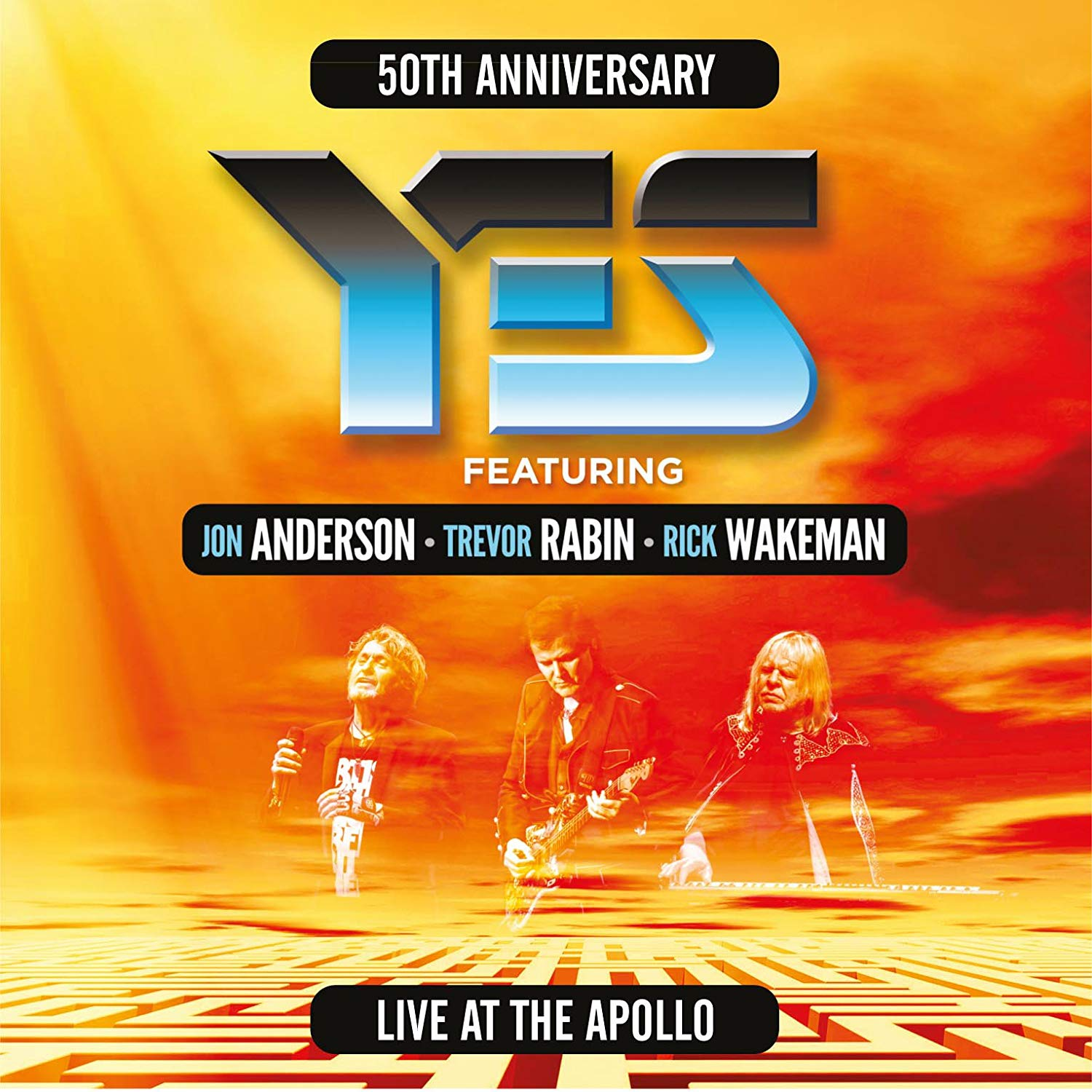CD Shop - YES LIVE AT THE APOLLO