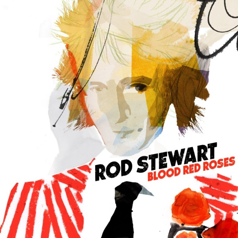CD Shop - STEWART ROD BLOOD RED ROSES