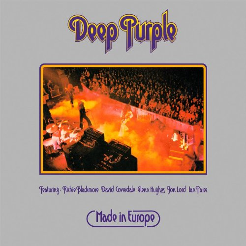 CD Shop - DEEP PURPLE MADE IN EUROPE