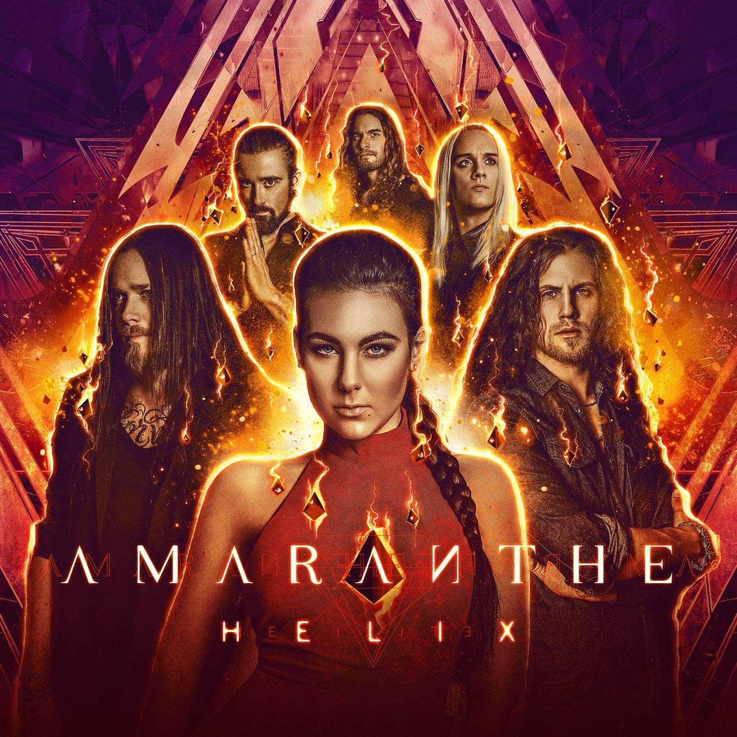 CD Shop - AMARANTHE HELIX/LIMITED