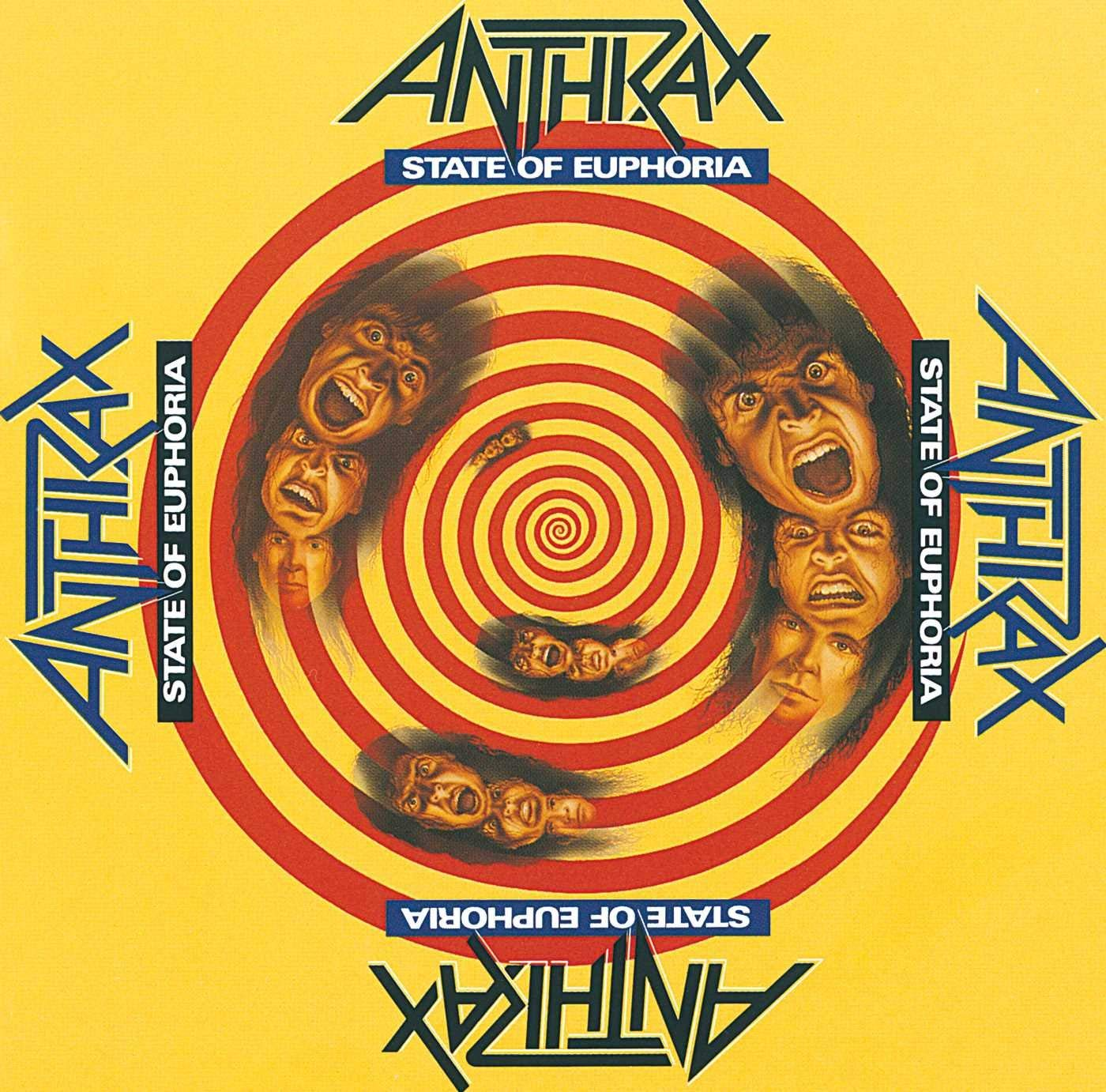 CD Shop - ANTHRAX STATE OF EUPHORIA