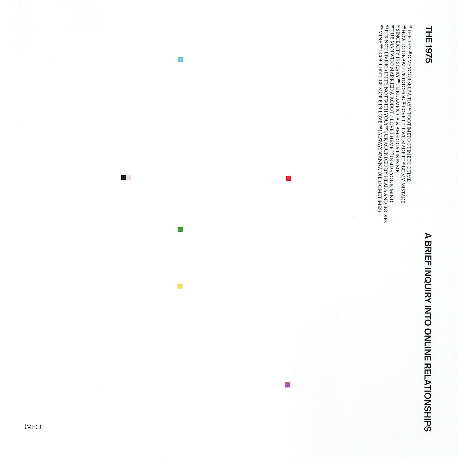 CD Shop - THE 1975 A BRIEF INQUIRY INTO...