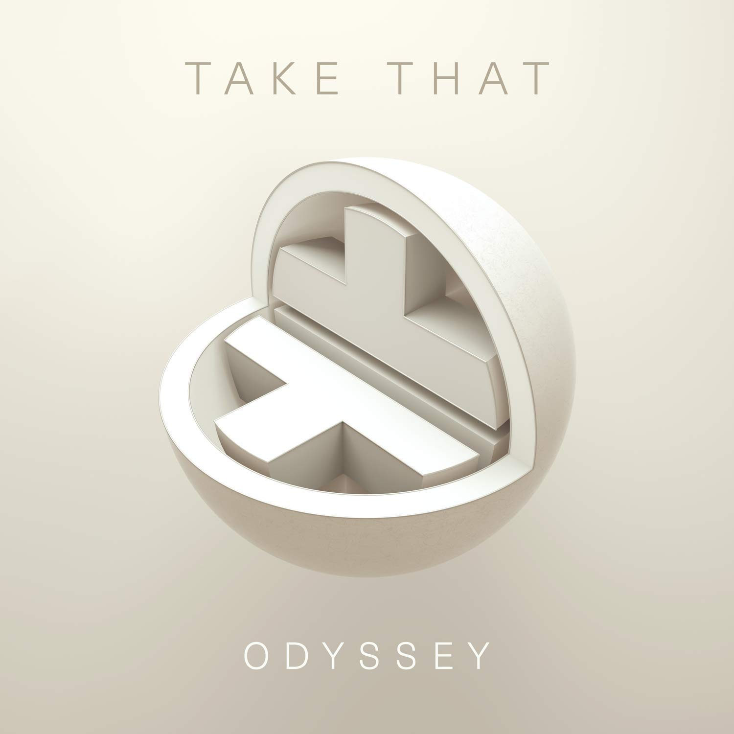 CD Shop - TAKE THAT ODYSSEY/DELUXE
