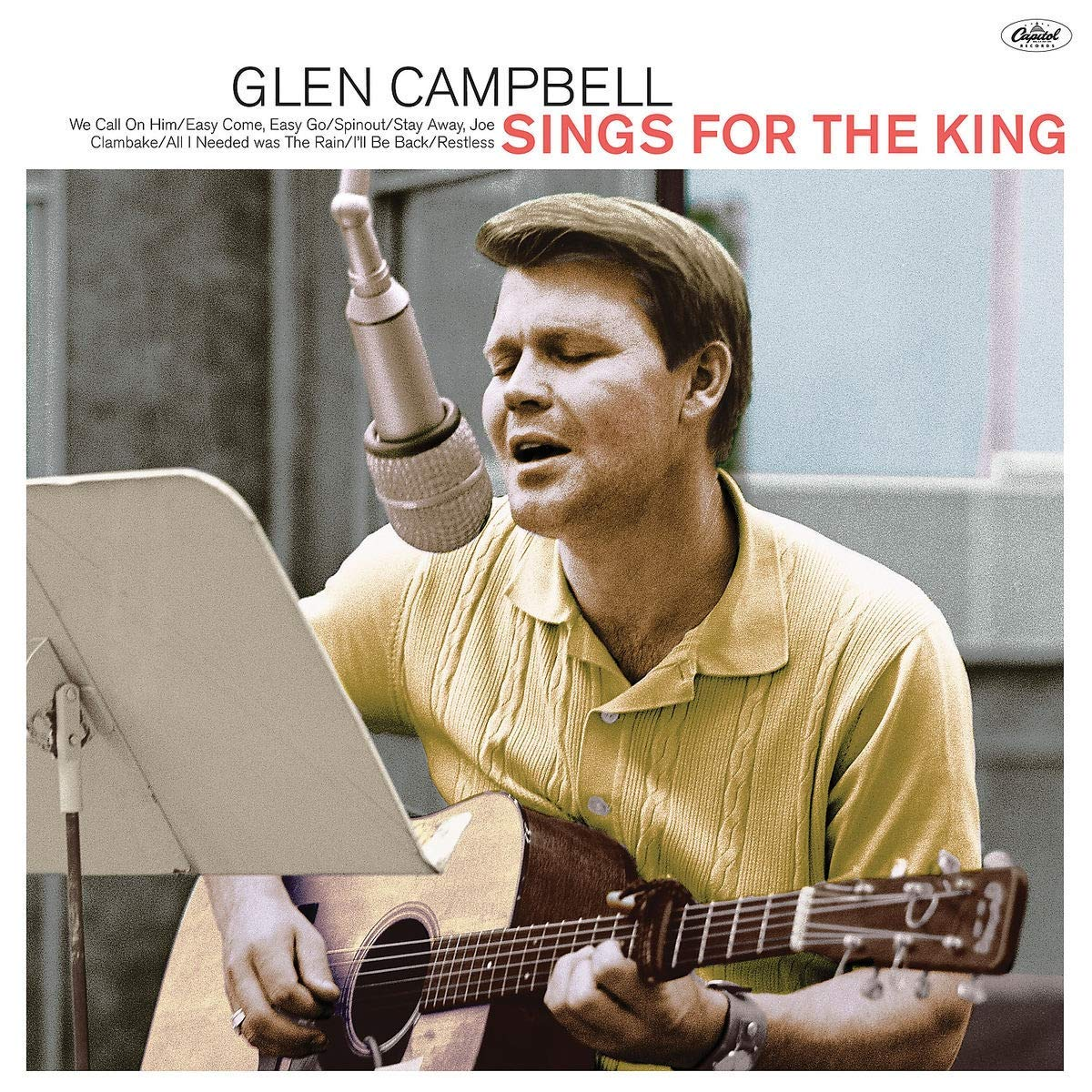 CD Shop - CAMPELL GLEN SINGS FOR THE KING