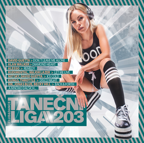 CD Shop - RUZNI/POP INTL TANECNI LIGA 203