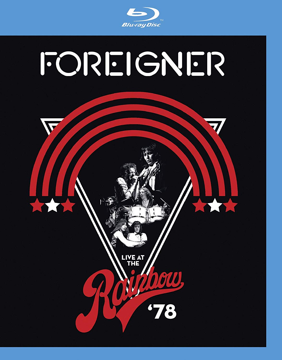 CD Shop - FOREIGNER LIVE AT THE RAINBOW