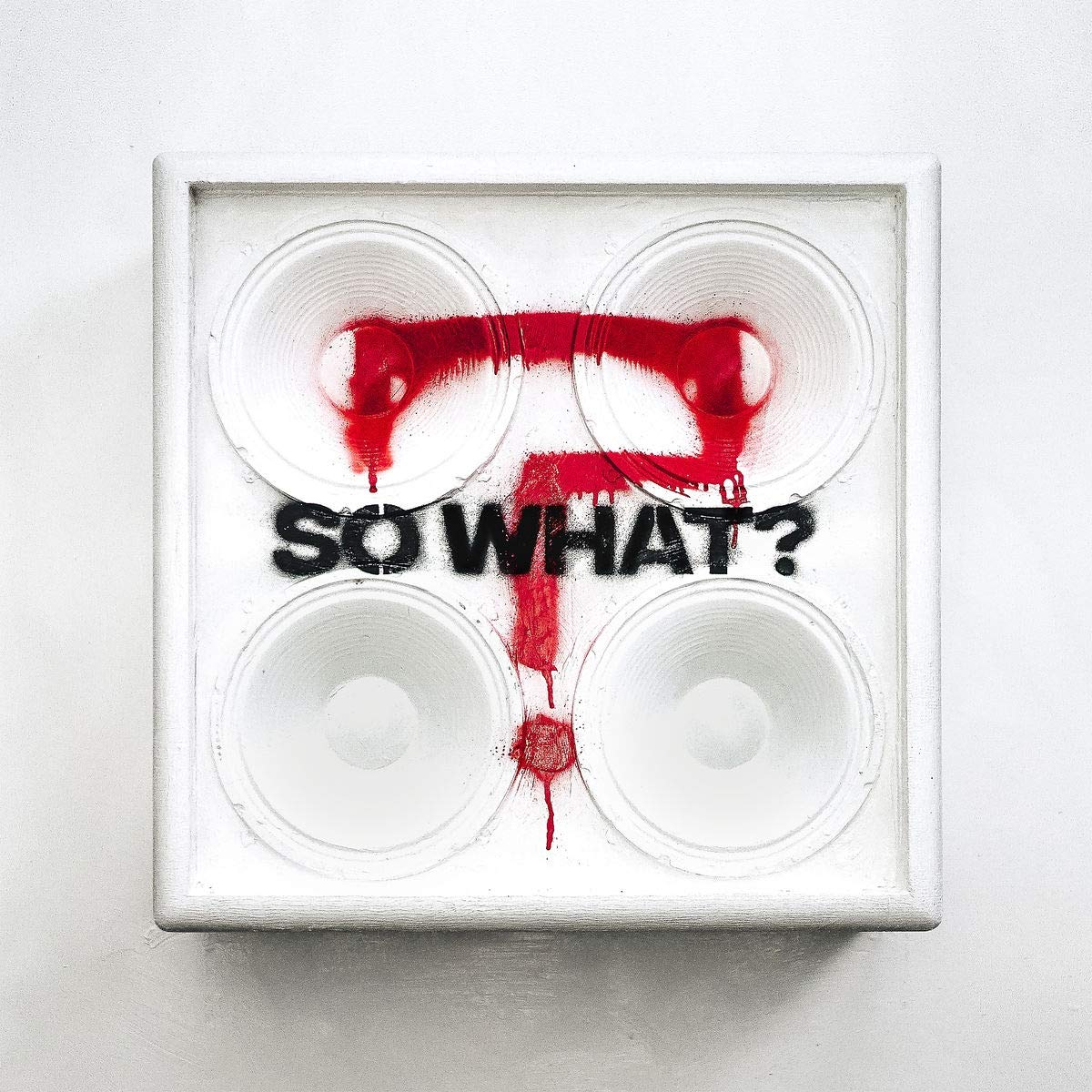 CD Shop - WHILE SHE SLEEPS SO WHAT?