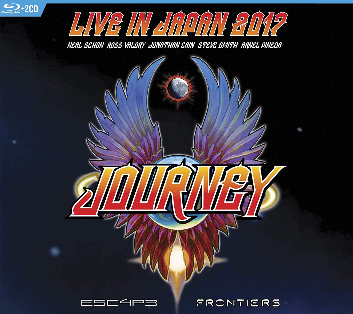 CD Shop - JOURNEY ESCAPE & FRONTIERS LIVE IN