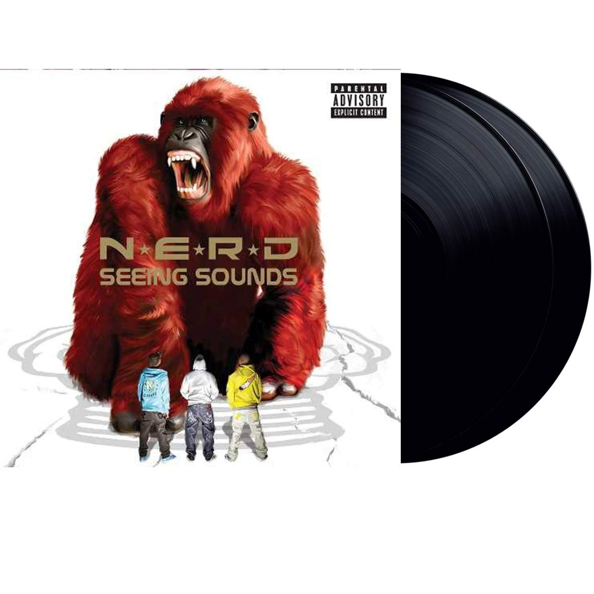 CD Shop - N.E.R.D SEEING SOUNDS