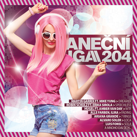 CD Shop - RUZNI/POP INTL TANECNI LIGA 204
