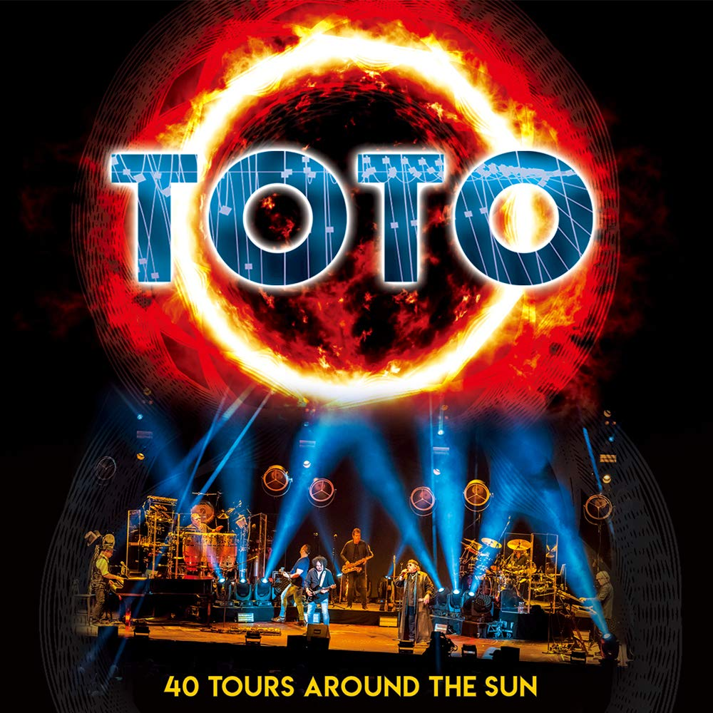 CD Shop - TOTO 40 TOURS AROUND.../2CD