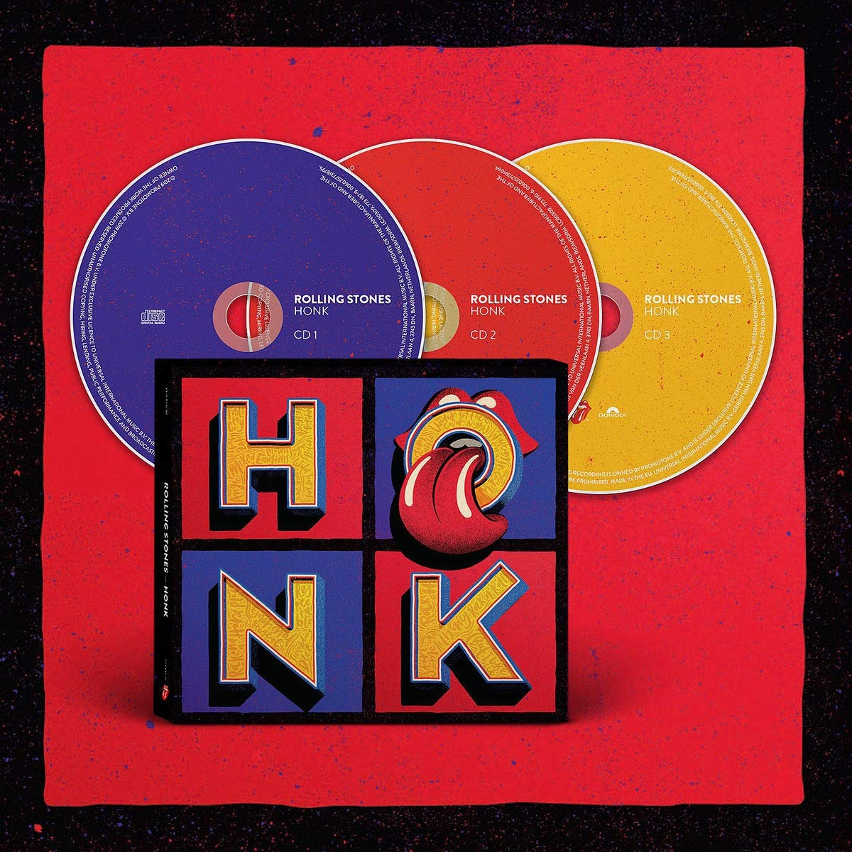 CD Shop - ROLLING STONES HONK/DELUXE/LIMITED
