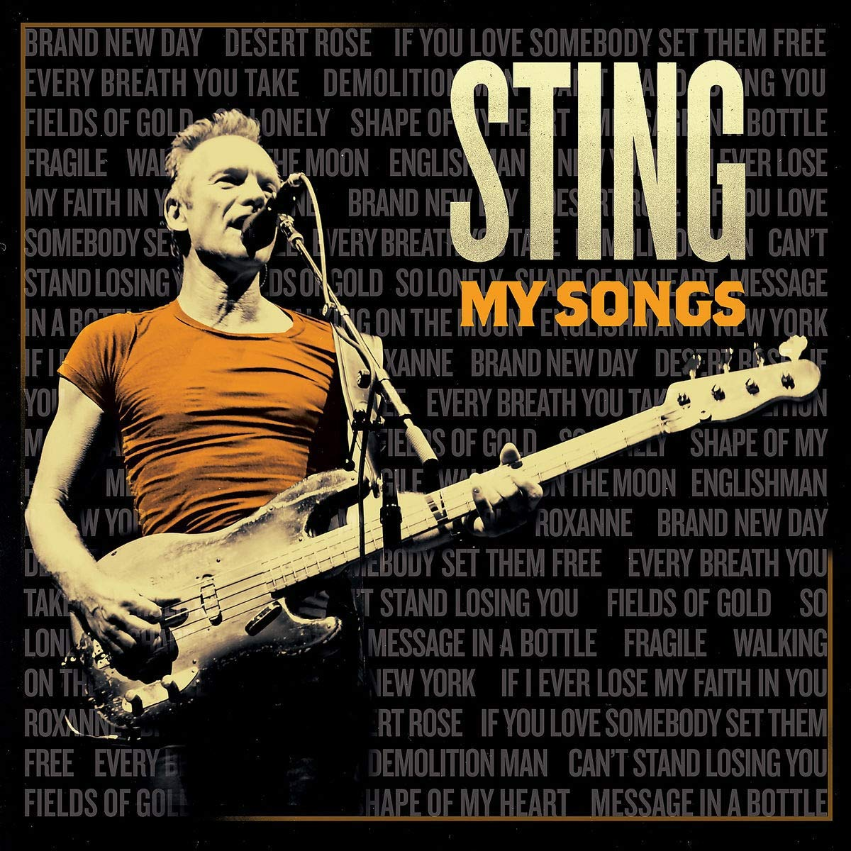 CD Shop - STING MYSONGS/DELUXE
