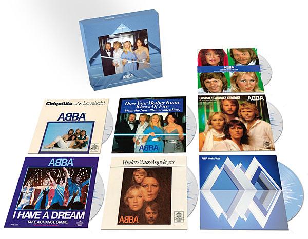 CD Shop - ABBA VOULEZ VOUS/7SINGL.BOX LTD