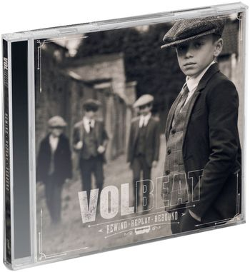 CD Shop - VOLBEAT REWIND, REPLAY, REBOUND
