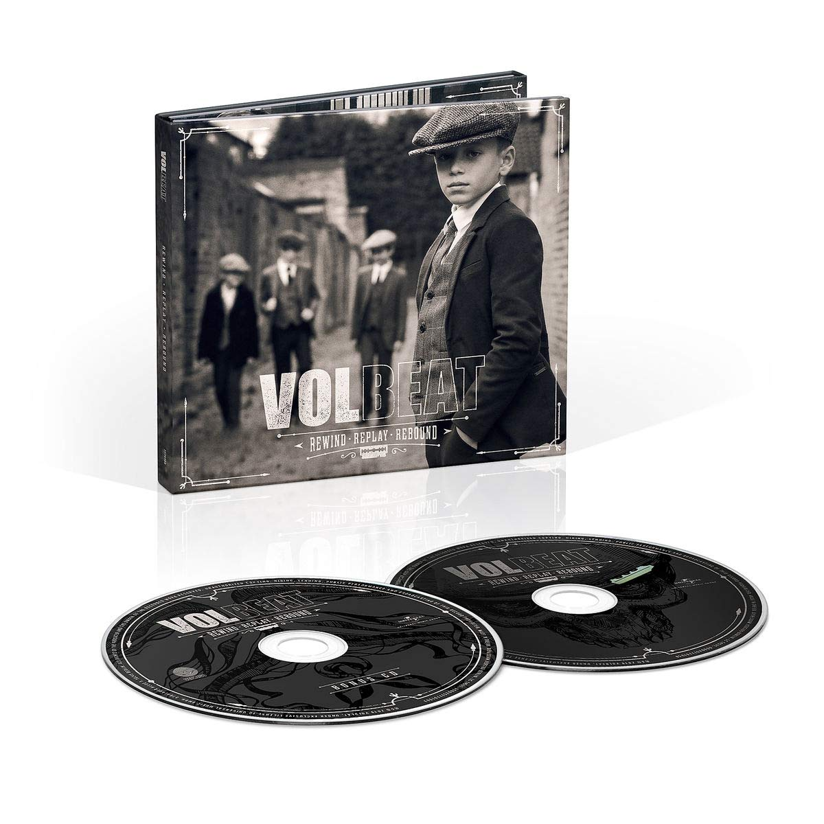 CD Shop - VOLBEAT REWIND, REPLAY, REBOUND/LTD/DLX