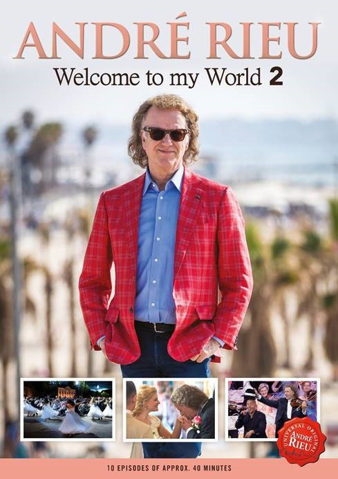 CD Shop - RIEU ANDRE WELCOME TO MY WORLD 2