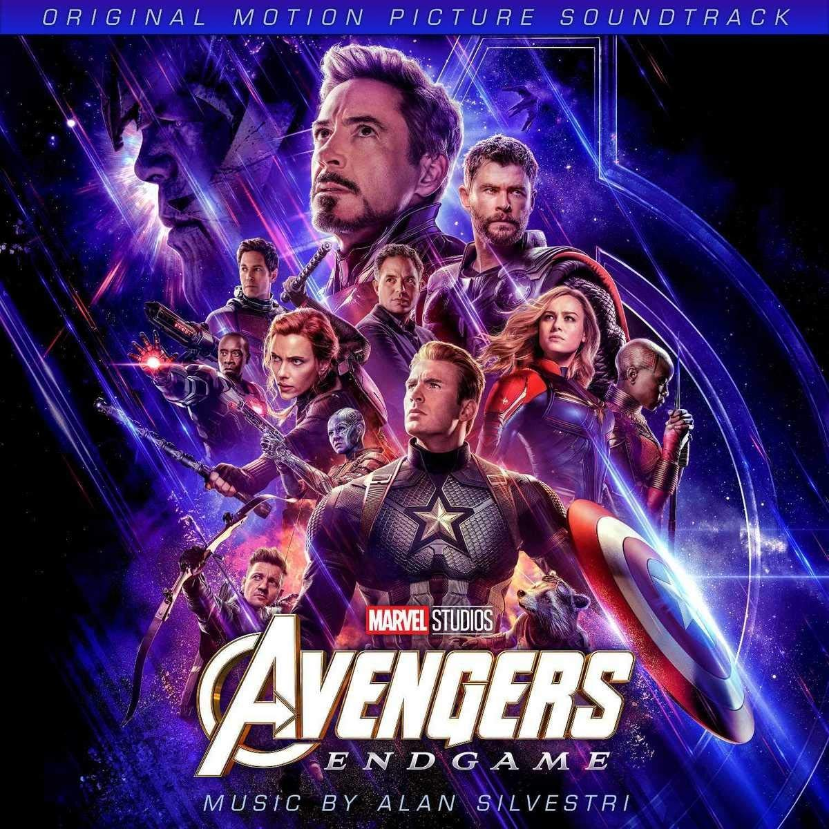 CD Shop - SILVESTRI ALAN AVENGERS: ENDGAME