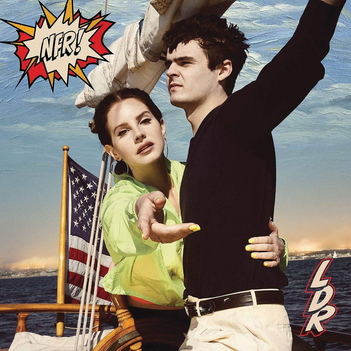 CD Shop - LANA DEL REY NORMAN FUCKING ROCKWELL/COLOUR