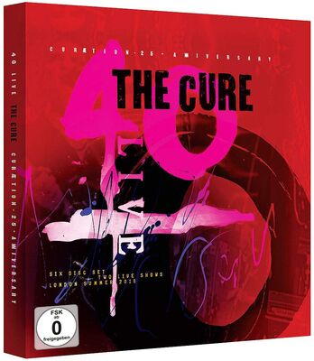 CD Shop - CURE CURAETION 25../2DVD/4CD/LT