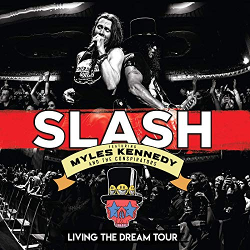 CD Shop - SLAH/MYLES KENNEDY AND.. LIVING THE DREAM TOUR