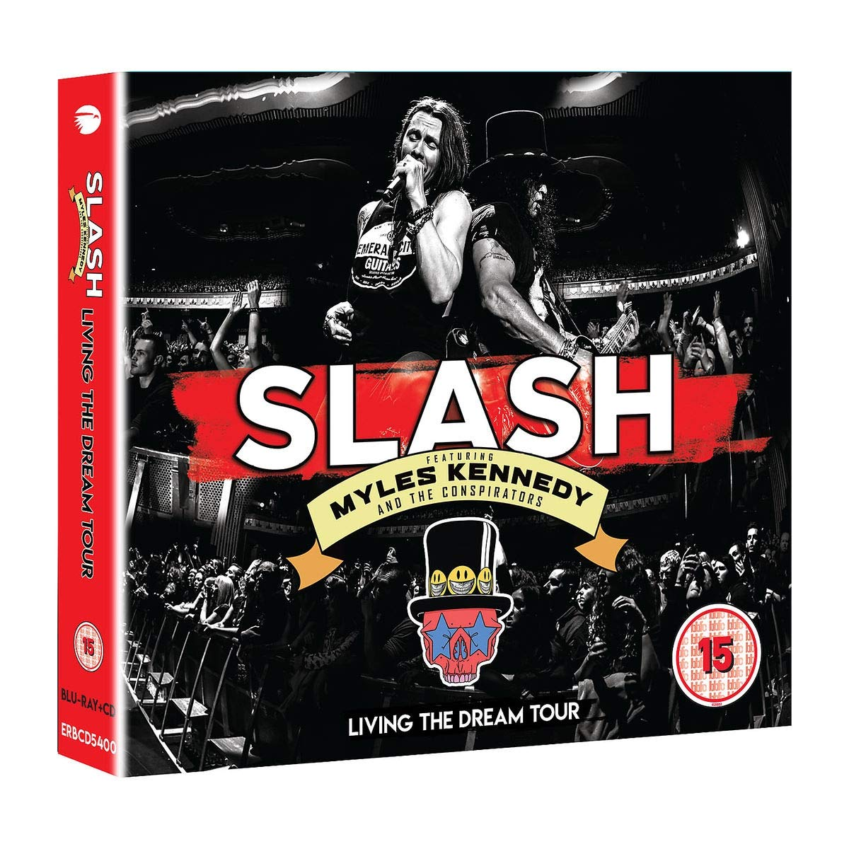 CD Shop - SLAH/MYLES KENNEDY AND.. LIVING THE DREAM TOUR/2CD