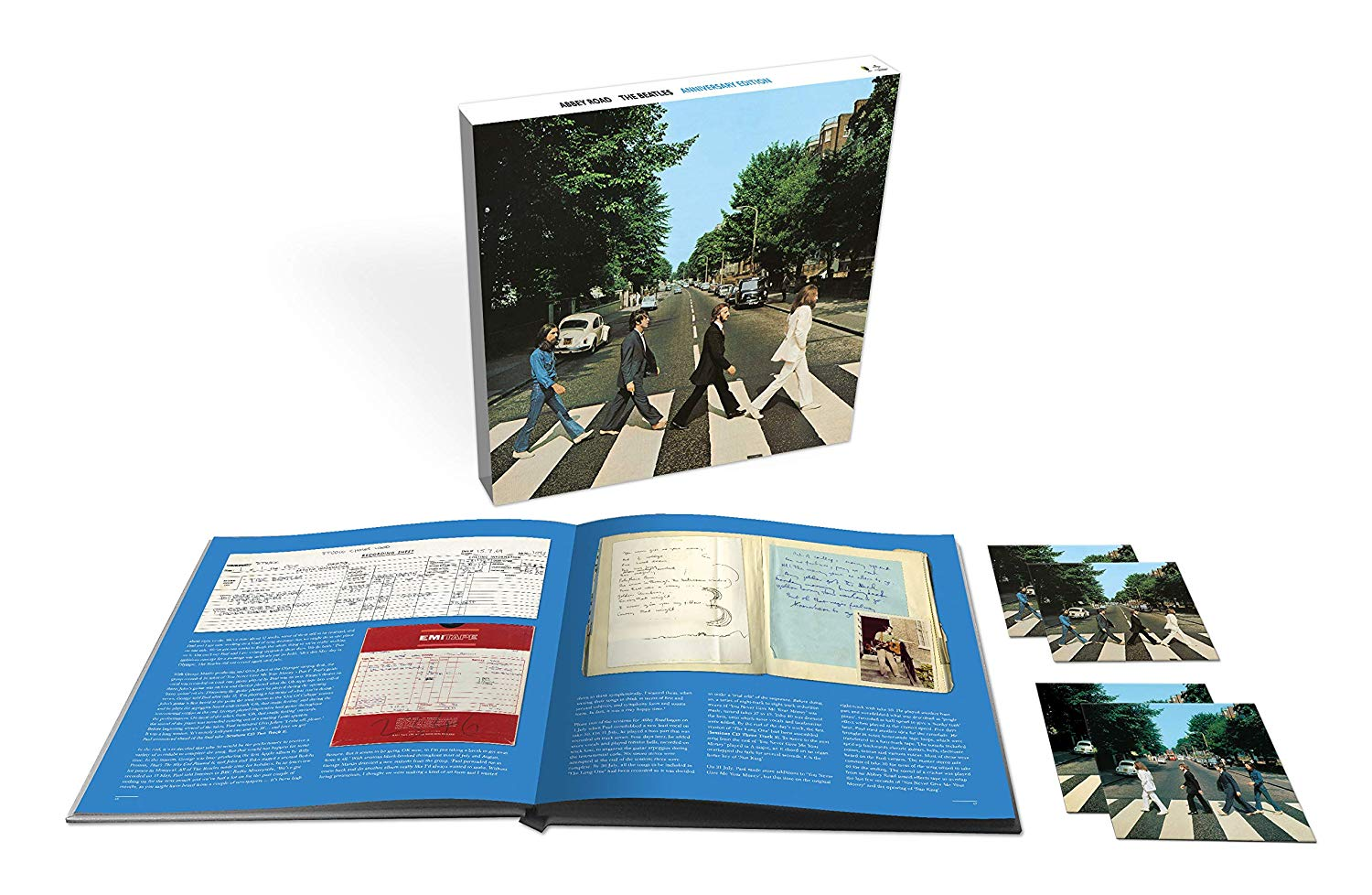CD Shop - BEATLES ABBEY ROAD/3CD/BR AUDIO/LT