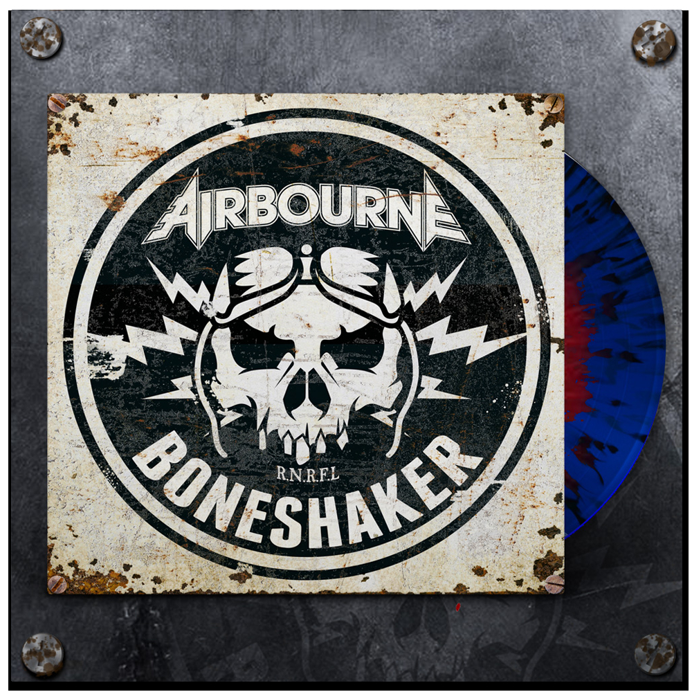 CD Shop - AIRBOURNE BONESHAKER/COLOUR LIMITED