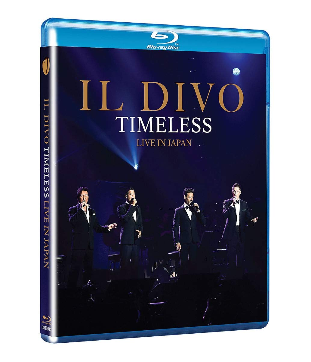 CD Shop - IL DIVO TIMELESS LIVE IN JAPAN