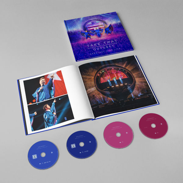 CD Shop - TAKE THAT ODYSSEY-GREATEST HITS LIVE/DVD/BR/2CD