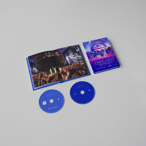 CD Shop - TAKE THAT ODYSSEY-GREATEST HITS LIVE/CD
