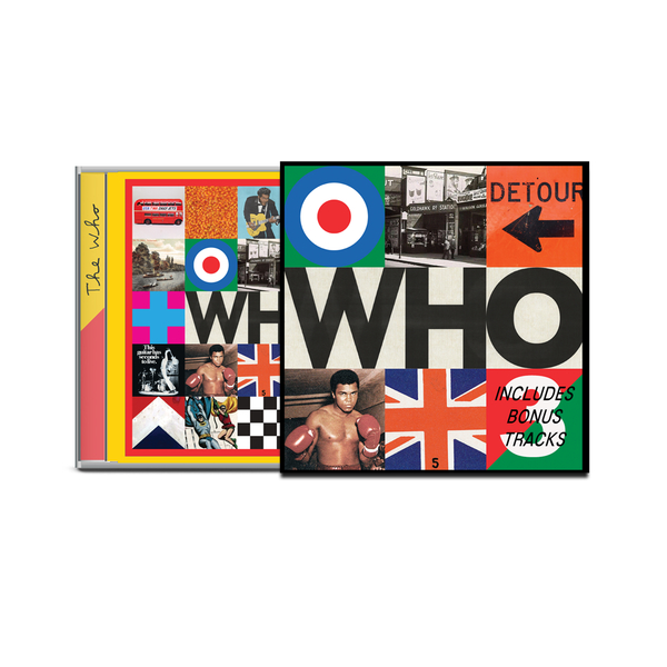 CD Shop - WHO THE WHO/DELUXE