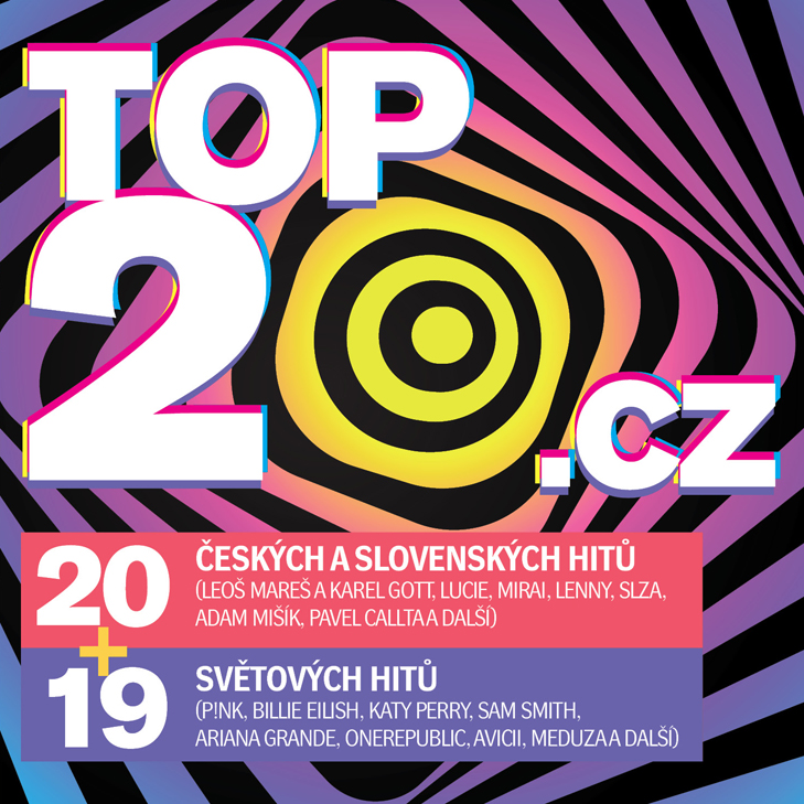 CD Shop - RUZNI/POP NATIONAL TOP20.CZ 2019/2