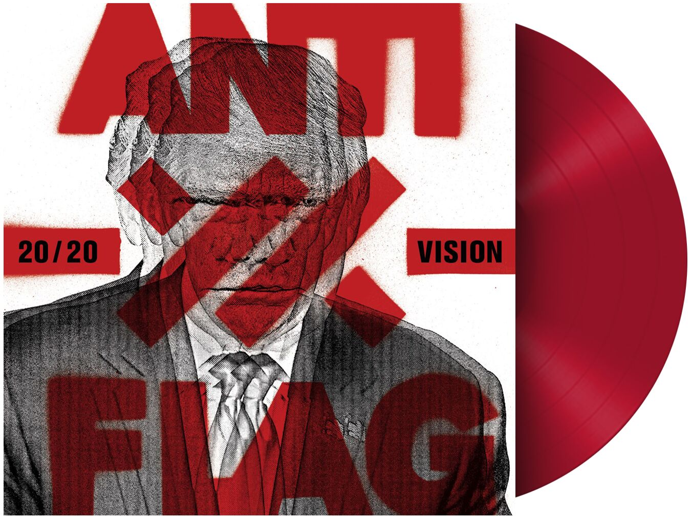 CD Shop - ANTI-FLAG 20/20 VISION-RED LP