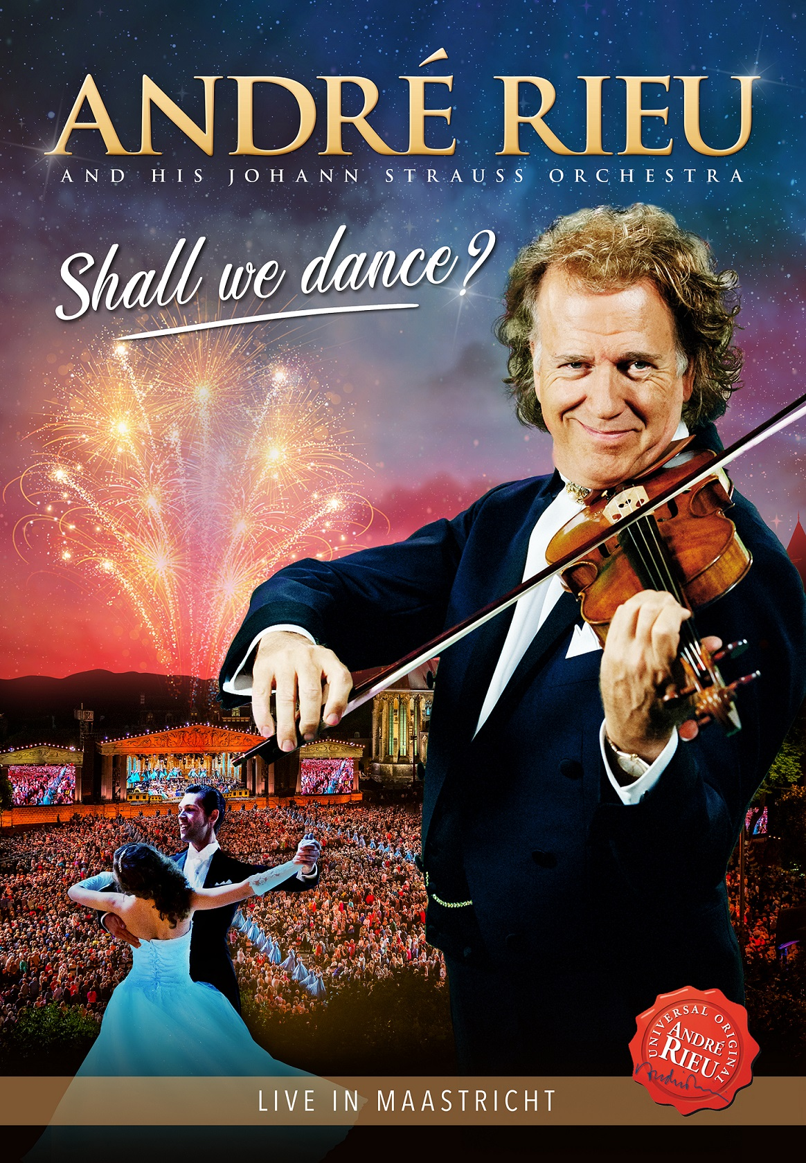 CD Shop - RIEU ANDRE SHALL WE DANCE
