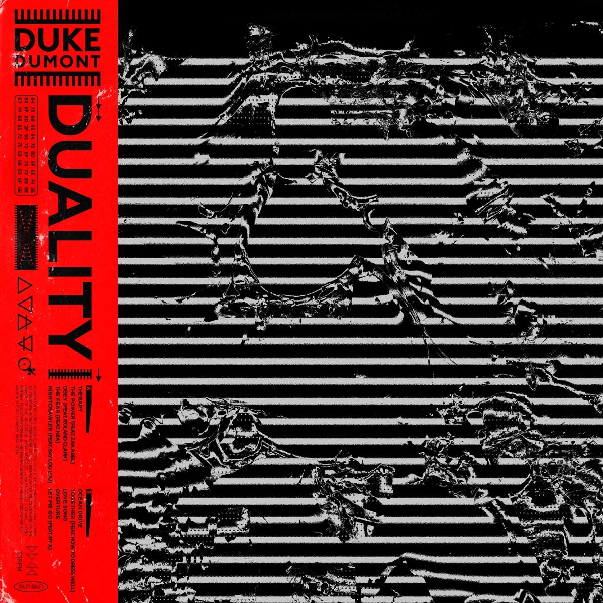 CD Shop - DUKE DUMONT DUALITY