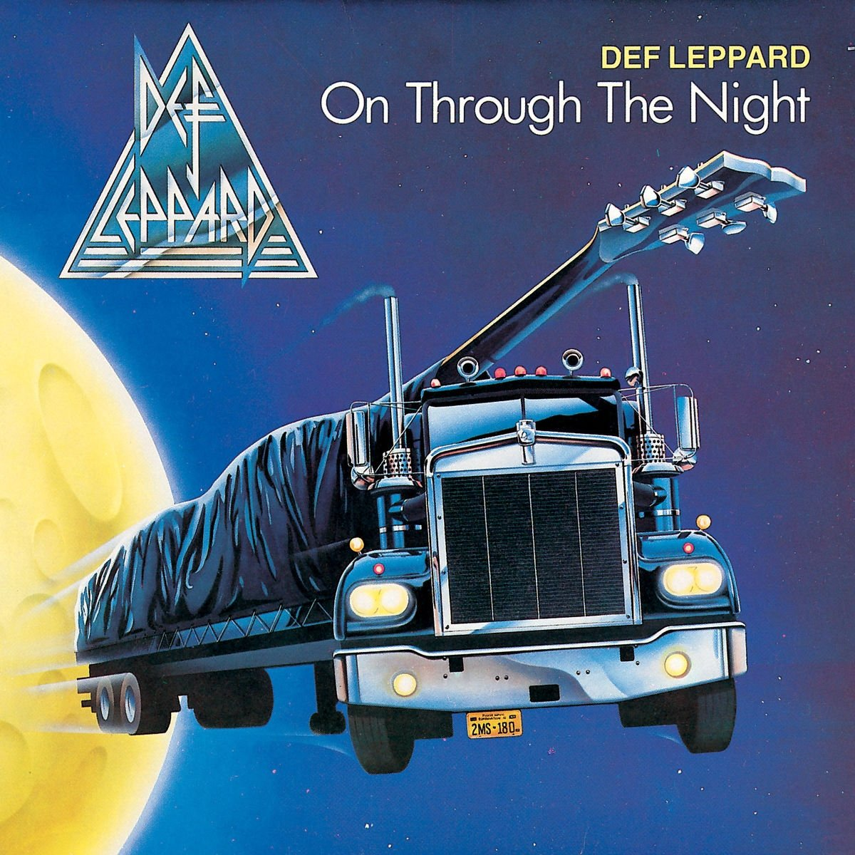 CD Shop - DEF LEPPARD ON THROUGH THE NIGHT