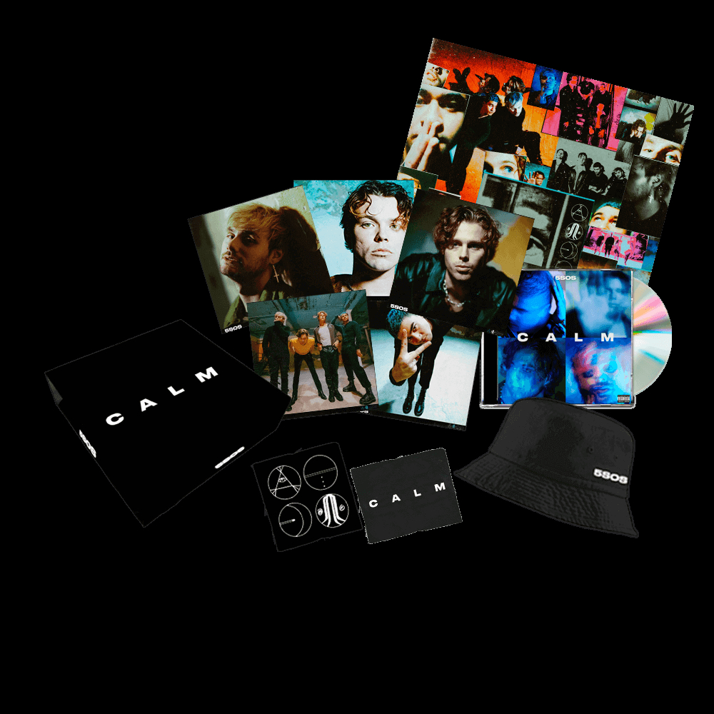 CD Shop - 5 SECONDS OF SUMMER CALM/FAN BOX