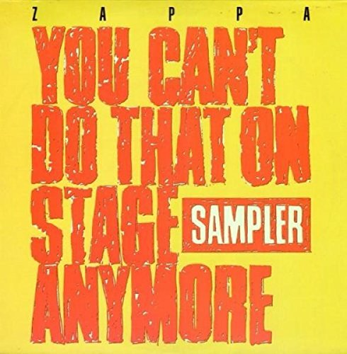 CD Shop - ZAPPA FRANK YOU CAN